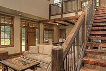 the stairs / rustic, industrial and farmhouse style stairs for ideas and inspiration