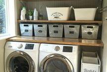 laundry room decor & diy / laundry room inspiration and decor ideas, industrial laundry room, laundry room renovation, laundry room decor ideas, laundry room decor inspiration, laundry room renovation