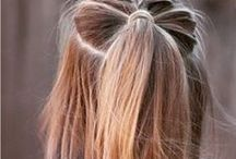 Hairstyles / For girls with long hair and no care