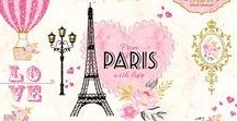 Paris Clip art and Paris Scrapbook / Paris Clip art and Paris Scrapbook for all styles. Use it in any project and have fun! Perfect for crafts, scrapbooking, fabric, decor, stationery, gifts and more!