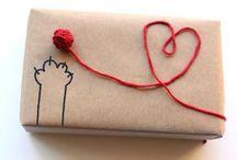 Geschenke verpacken / Hier sieht man süß Ideen & Anregungen um Geschenke liebevoll einzupacken und zu verzieren ;)