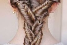hair / braids, twists, ponys, etc. / by Isabel Andrus