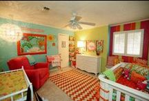 Kids rooms - I love color!! / by Anne Johnson