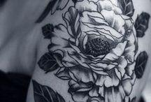 tattoo / study of ink on skin & artful design / by Sol Gutierrez