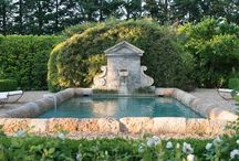 Gardens & Pools / The extension of a home...we swim, entertain, cook, dine and visit by our fireplace. / by Kelly Shaver