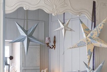 Decorations ♡ Stars / Home decor with stars  / by Cinzia Corbetta