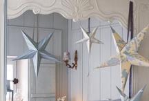 Decorations ♡ Stars / Home decor with stars  / by Cinzia Corbetta