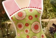 Apron Obsession / Apron patterns and vintage aprons.  (Who doesn't love a cute apron?)