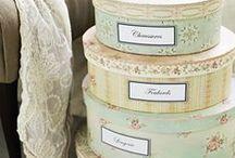 Decorations ♡ Boxes / Home decor with bird boxes / by Cinzia Corbetta