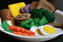 Felt Toys and Such / Felt toys, quiet books, and busy bags. Fun toys to make for the kids.  / by Anne Johnson