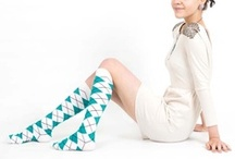 Teal Knee Socks