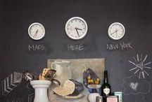 Decorations ♡ Chalkboard / Home decor with chalkboard  / by Cinzia Corbetta