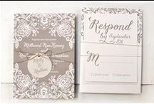 Graphic ✎ Wedding Stationery / Graphic resources: wedding stationery inspirations / by Cinzia Corbetta