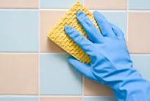 • c l e a n • / cleaning & organization