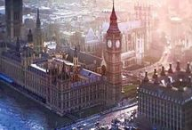 Charming London and England / The capital city of England and the United Kingdom and enchanting England