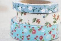 Decorations ♡ Washi Tape / decorating with washi tape / by Cinzia Corbetta