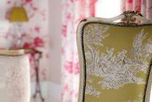 Decorations ♡ Toile de Jouy / Home decor with Toile de Jouy  / by Cinzia Corbetta