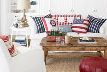 Beach House / My favorite beach house decorating ideas.