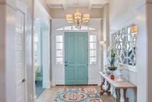 Entry or Mud Room / Back and front door entry ideas and storage solutions. / by Becca Mayernik