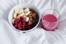 Cuisine / des recettes healthy (ou non), des mets savoureux, des photos appétissantes...