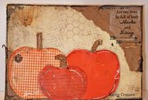 5 for 5 Thanksgiving Inspiration 2015 / Paper Craft, Mixed Media, Crafts for Thanksgiving