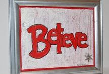 5 for 5 Christmas Inspiration 2015 / Christmas and holiday crafts, paper crafts, mixed media
