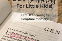 Teaching the Bible to Toddlers and Kids - Christian Education / Teaching the Bible to your kids, regardless of if they are in public school, private school, or homeschool! Many activites could also be used in Sunday School and VBS settings! Great for toddlers and kids!