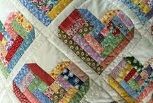 Scrap Quilt Patterns & Projects / Scrappy quilt and sewing ideas
