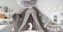 Toddler Bed: Design Inspiration / Inspiration and ideas for designing your toddler's bedroom and toddlers bed.