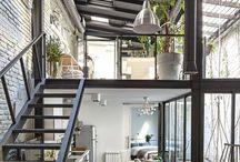 SG - Estilo Industrial / Imagenes con espacios decorados con el estilo Industrial que me parecen interesantes.