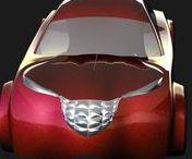 Car Design Renderings
