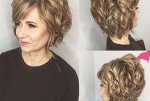 Hairstyle for short hair | fryzura dla krótkich włosów