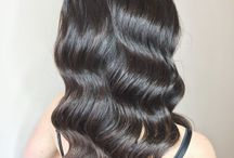Hollywood waves, curls