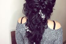 Wedding hairstyle, hairstyles in one side  Work by @anna_fandzii.hairstyle