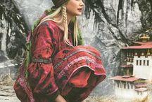 Style bohème-Hippie