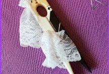 Wedding accessories Свадебные аксессуары / Decor wedding accessories for you! Варианты декора свадебных аксессуаров для вас!