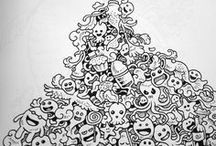 Doodles by kerbyrosanes