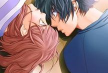"Ao Haru Ride / ""Maybe all this time, I've been waiting for something like this. Something like a storm..."""