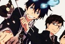 """Ao no Exorcist / """"For the time being, all an idiot like me can do is to keep moving forward..."""""""