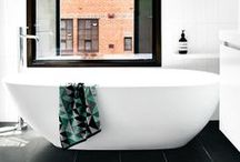 Bathrooms / by Catherine Lazure-Guinard | Nordic Design