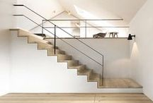 Staircases / by Catherine Lazure-Guinard | Nordic Design