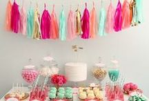 Party Ideas / Party idea for girls, party ideas for teens and teen girls, party ideas for boys, Christmas party ideas, New Year's Eve party ideas, and great tips and tricks for planning an awesome summer party!