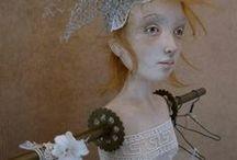 dolls  / by Jannae Merry Schloemer