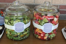Food- Party and Shower Ideas