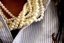 Pearls ~ Pearls ~ Pearls / by Elizabeth Appleby