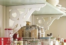 Organizing-Pantry/kitchen / Creative and beautiful ways to organize the pantry and kitchen. / by Lucy Pumkinjack