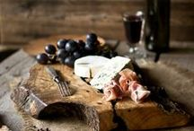 """Fabulous Cheeses...and Charcuterie / """"A cheese may disappoint. It may be dull, it may be naive, it may be oversophisticated. Yet it remains cheese, milk's leap toward immortality.""""   Clifton Fadiman, Any Number Can Play  / by Kimberlim"""