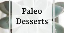 * Paleo Recipes - Desserts & Treats / This is a collection of Paleo recipes for every kind of delicious paleo dessert you can dream of!  Cakes, cookies, pies, tarts, brownies, bars, chocolates, and more.   Check out my blog and subscribe to my newsletter for the latest updates and recipes:   http://www.baconandwhippedcream.com