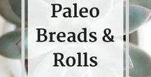 * Paleo Recipes - Breads & Rolls / This is a collection of Paleo recipes for breads, biscuts, rolls, tortillas, and any bread type thing you can think of.   Check out my blog and subscribe to my newsletter for the latest updates and recipes:   http://www.baconandwhippedcream.com