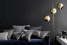 Dark walls / by Catherine Lazure-Guinard | Nordic Design